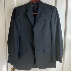 Men's 36 R, Navy Blue Sport Coat by Alfani